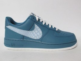 Nike Air Force 1 Low LV8 Noise Aqua Summit Leather Shoes Quilted Tongue ... - $89.99