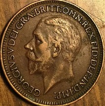 1928 UK VICTORIA FARTHING COIN - $2.35