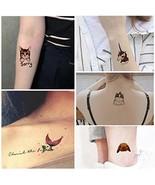 Everjoy Cute Animal Temporary Tattoos - 24 pcs, colorful, flash, dainty ... - $15.54