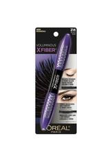 Loreal Paris Makeup Voluminous Superstar X Fiber Mascara Black Noir #214  - $9.99