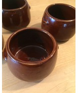Vintage 60s West Bend stoneware Bean Bowls - set of 4 - $28.00