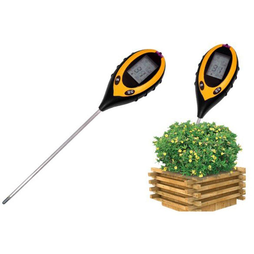 soil survey instrument 4 in 1 plant soil ph moisture light