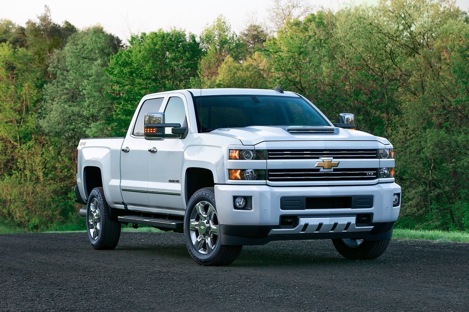 Primary image for 2017 Chevrolet Silverado 2500HD 24X36 inch poster, truck