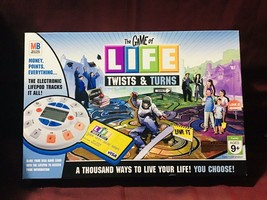 Milton Bradley Hasbro Game of Life Game of Life, The - Twists & Turns Bo... - $57.42