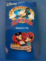 Mickey Minnie Mouse Pin Disney Store 12 months of Magic MIP Valentines D... - $9.99