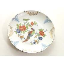Vintage Hand Painted Small Plate Bird German - $24.00