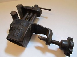 "Vintage TKS Bench Vise Clamp On 2"" Jaws USA  - $21.73"
