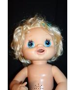 Hasbro Blonde Baby Alive My Baby Alive Interactive Eats Drinks Wets Talk... - $59.95