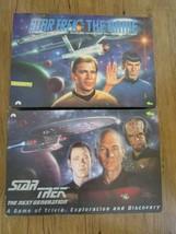 Star Trek 1992 Classic & 1993 Next Generation Trivia Games Set of 2 - $8.91