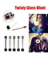 1PC TWISTY GLASS BLUNT WITH CLEANING BRUSH PACK... - $7.91