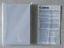 """Canon Photo Paper Plus Glossy II PP-201, 4""""x 6"""", 50 Sheets sealed package - $5.00"""