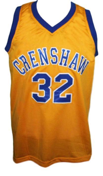 Monica wright  32 crenshaw love and basketball jersey yellow   1
