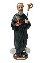 16 Inch St Saint San Benito Abad Santo Statue Figurine Figure Religious Decor - $45.00
