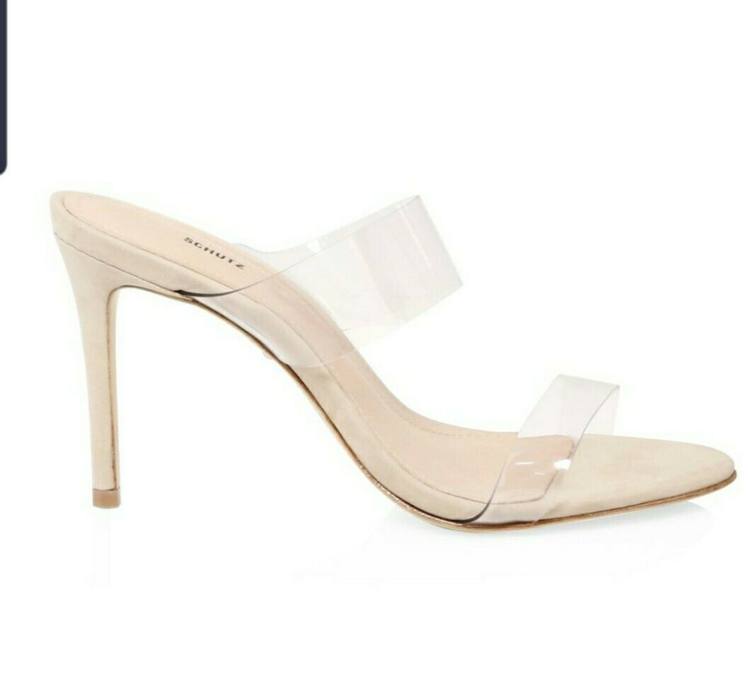 sandals,schutz high heels ariella vinil nude 8B , dress sandals