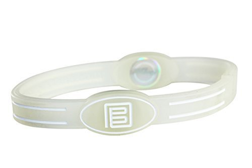 PURE ENERGY BAND - ORIGINAL FLEX (Large, Clear/White)