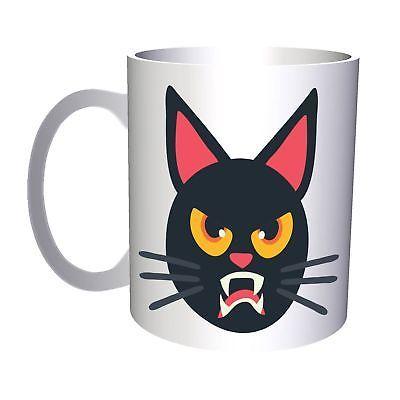 Cat Halloween Smiley 11oz Mug r549