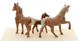 Hagen-Renaker Miniature Ceramic Horse Figurine Tiny Chestnut Mare Stallion Colt image 2