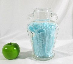 Handled Clear Glass Jar Jug Vase 1950ml - $8.91