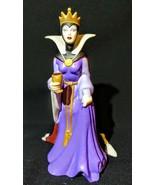 Disney Snow White Evil Queen Ceramic Porcelain Figurine  - $45.53