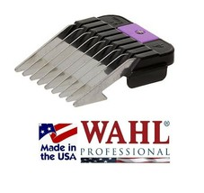 """WAHL STAINLESS STEEL Blade 1/4"""" (6mm) GUIDE COMB*Fit OSTER A5,Many ANDIS... - $13.99"""