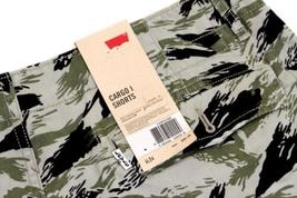 BRAND NEW LEVI'S MEN'S PREMIUM COTTON RELAXED FIT CARGO SHORTS CAMO 124630299 image 3