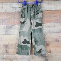 Gap Kids Adjustable Waist Pants Girls Size 5 Reg Camouflage P3 - $8.41