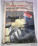 EVINRUDE JOHNSON OUTBOARD MOTOR Official Cylmers Owners Service Shop Manual - $65.44