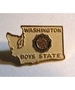 Washington Boys State Lapel Pin - Vintage American Legion Government Edu... - $24.74