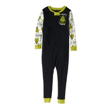The Grinch Dr. Seuss Christmas Holiday Pajamas Baby Unisex Footless Onesie - $19.99
