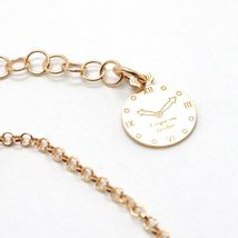 Silver Bracelet 925 Laminated in Rose Gold le Favole with Bow AG-901-BR-52 image 4