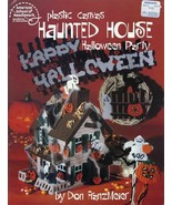 Haunted House Halloween Party Plastic Canvas Pattern/Instructions HTF RARE - $9.87