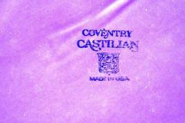 "Homer Laughlin Coventry Castilian Bread Plate 6 1/4"" Grenada Line image 4"