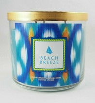 4 x Bath & Body Works Beach Breeze Nautical 14.5oz 3-wick Scented Candle - $63.95