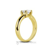 1.07ct E-SI3 Ideal Round Natural Diamond 14k Gold Classic Solitaire Ring... - $3,138.20