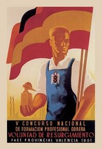 Fifth National Convention for Vocational Training by Calandin - Art Print - $19.99+
