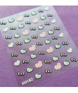 BANG STORE Nail Art 3D Decal Stickers Giltter Hello Kitty Hearts Bows CU... - $3.68