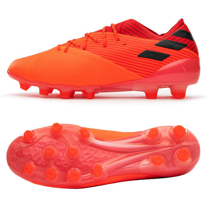 Adidas Nemeziz 19.1 HG Football Shoes Soccer Cleats Red EH0560 - $172.99