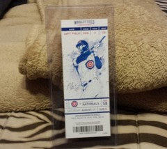 CHICAGO CUBS ANTHONY RIZZO 1000th HIT,  WRIGLEY FIELD FULL TICKET STUB ... - $19.99