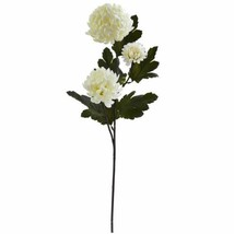 "Modern Cream 29? Chrysanthemum Artificial Flower (Set of 12) - 29"" - $83.79"