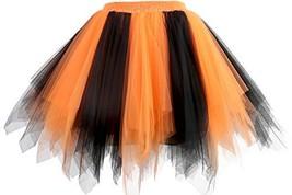 GOOBGS Musever 1950s Vintage Ballet Bubble Skirt Tulle Petticoat Puffy T... - $28.01