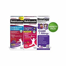 Children's Robitussin Cough &Chest/Night time Long Acting/Dimetapp Cough... - $347,64 MXN