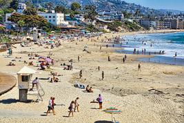 Main Beach at Laguna Beach, CA, Fine Art Photos, Paper, Metal, Canvas Pr... - $40.00