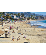 Main Beach at Laguna Beach, CA, Fine Art Photos, Paper, Metal, Canvas Pr... - $40.00 - $442.00