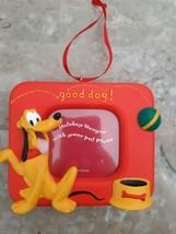 "Disney Good Dog Animal Pluto Picture Photo Frame Ornament 2"" x 2"" - $12.82"