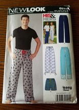 NEWLOOK  His and Her's Pajama Bottom Sewing Pat... - $6.95