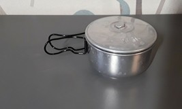 Switzerland SWISS aluminum META-71 S.A. Basle Meta pot pan casserole buffet - $12.00