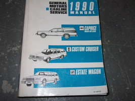 1990 Buick Estate Wagon Atelier Service Réparation Atelier Manuel Oem Usinage - $69.24