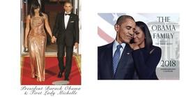 The Obama Family 2018  Calendar  & 12 X 10  (Mini Poster) - $18.80