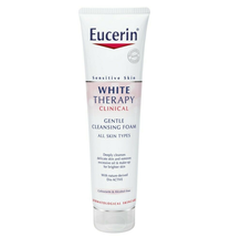 2 X 150ml Eucerin White Therapy Clinical Gentle Cleansing Foam FAST SHIPPING - $58.90