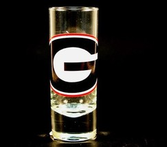 NCAA Licensed 2.5 Oz. Shooter Hype Cordial Style Shot Glass (Georgia Bul... - $8.90